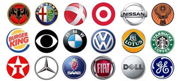 Famous Logos part 1 Logo Wallpaper 585x265