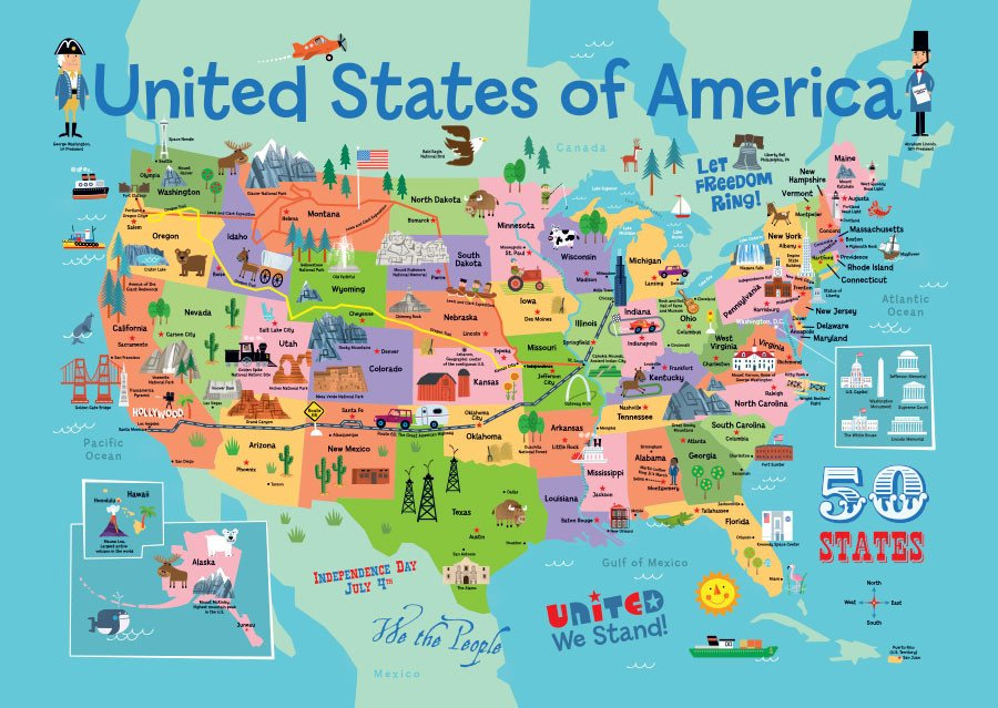 Us Map Wall Mural Free download USA Map Wall Mural by Edward Miller Map Wallpaper