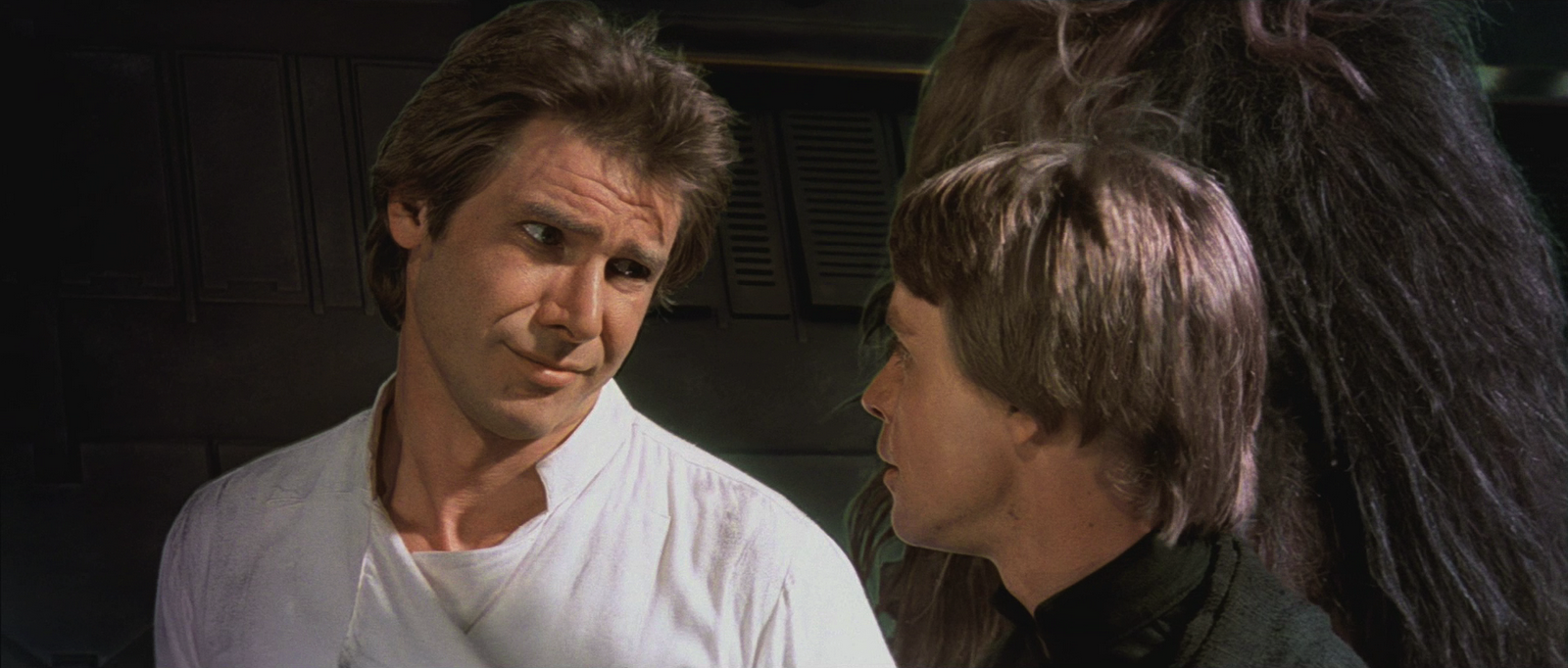 star wars luke skywalker han solo harrison ford wallpaper 1600x682