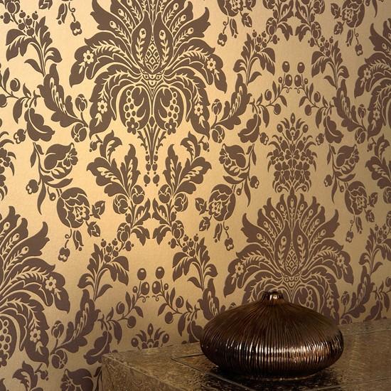 wallpaper under thirty pounds flock your wall golden flockjpg 550x550