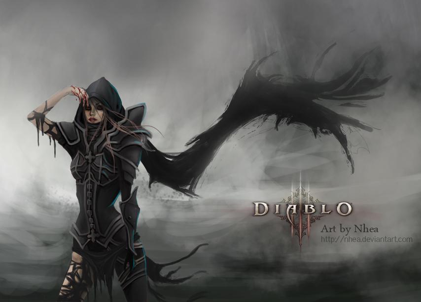 Demon Hunter Diablo 3 Concept Art