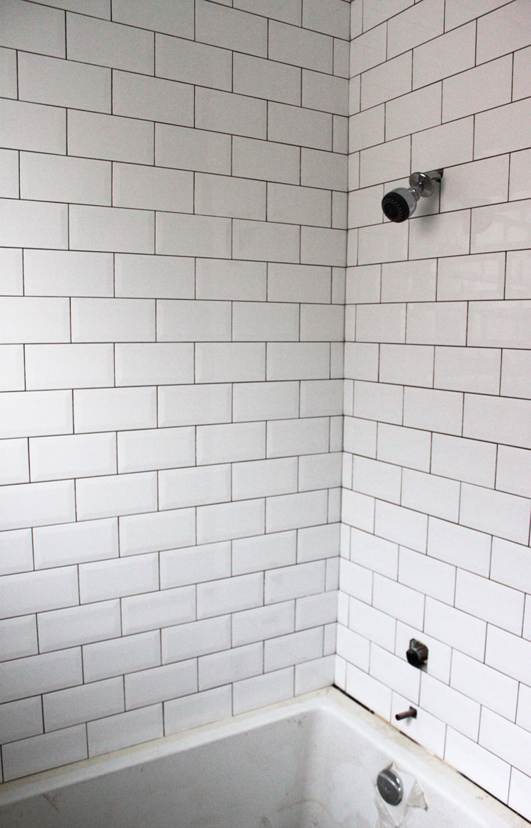Subway Tile Look Wallpaper Wallpapersafari