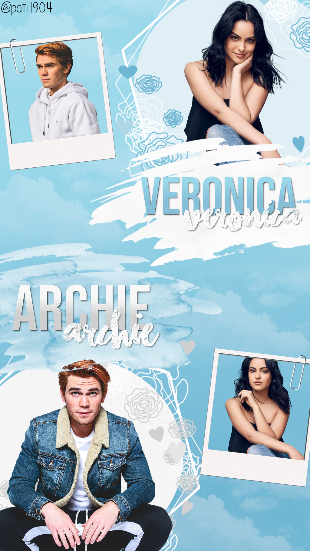 Wallpaper Veronica and Archie wallpaper veronica archie 1024x1820