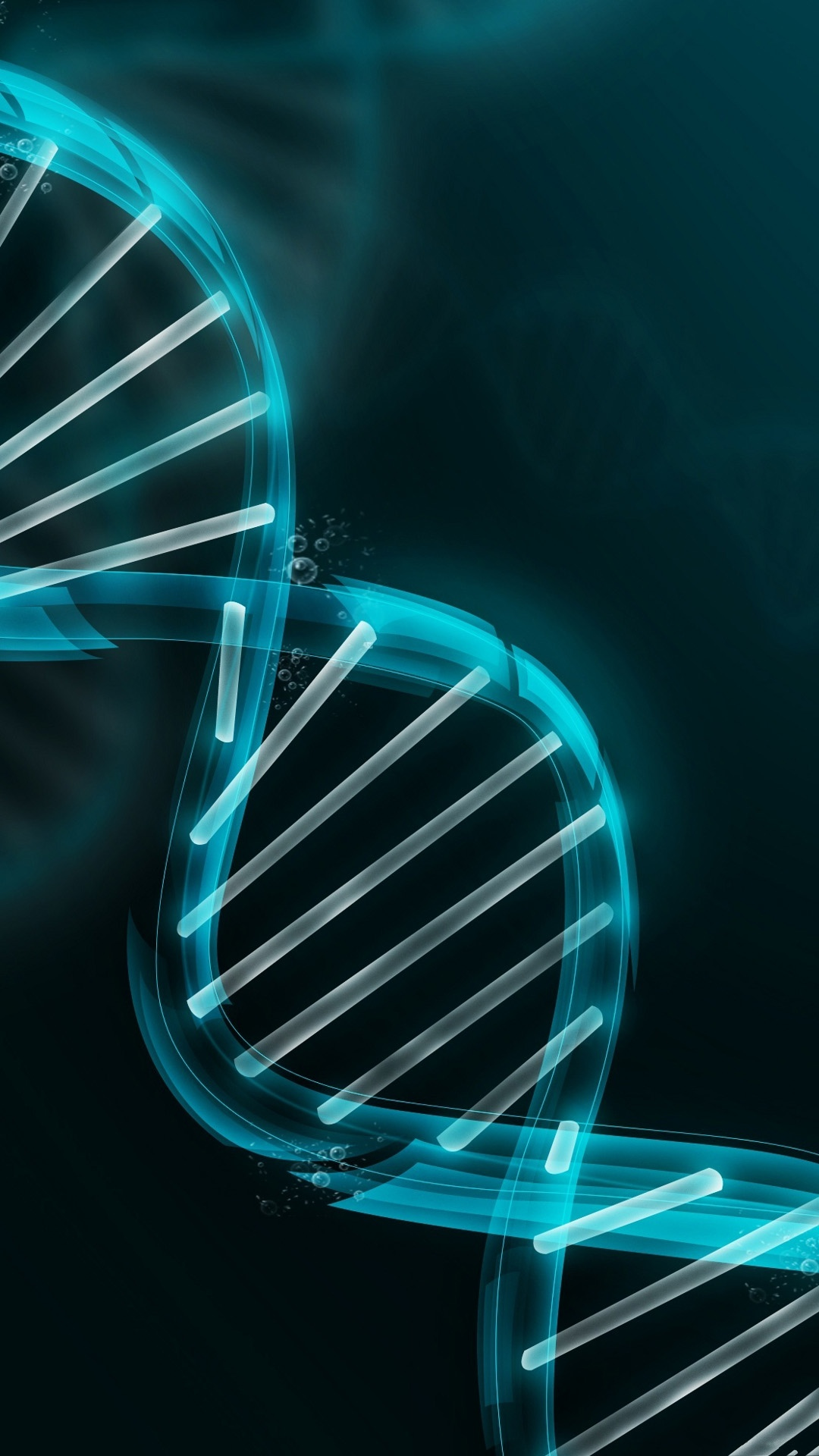 3D DNA illustration   Best htc one wallpapers 1080x1920