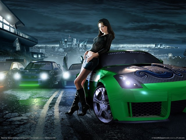 Need for Speed Underground HD Game Wallpapers Gallery 640x480