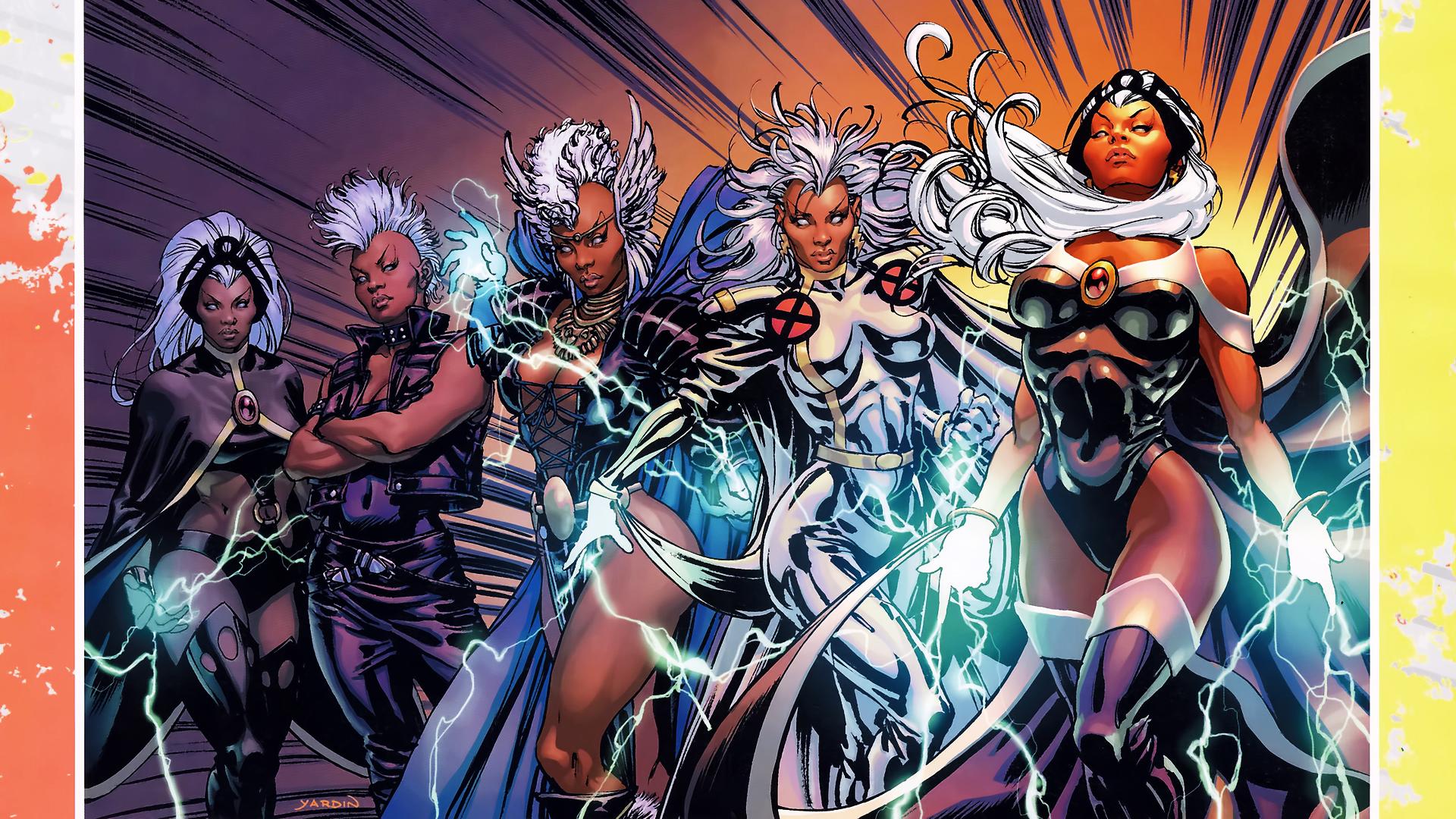 XMen Storm Wallpaper 1920x1080 XMen Storm Marvel Comics 1920x1080