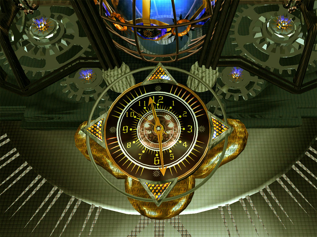 Alien Clock 3D Screensaver   produce the time of the highest quality 1024x768