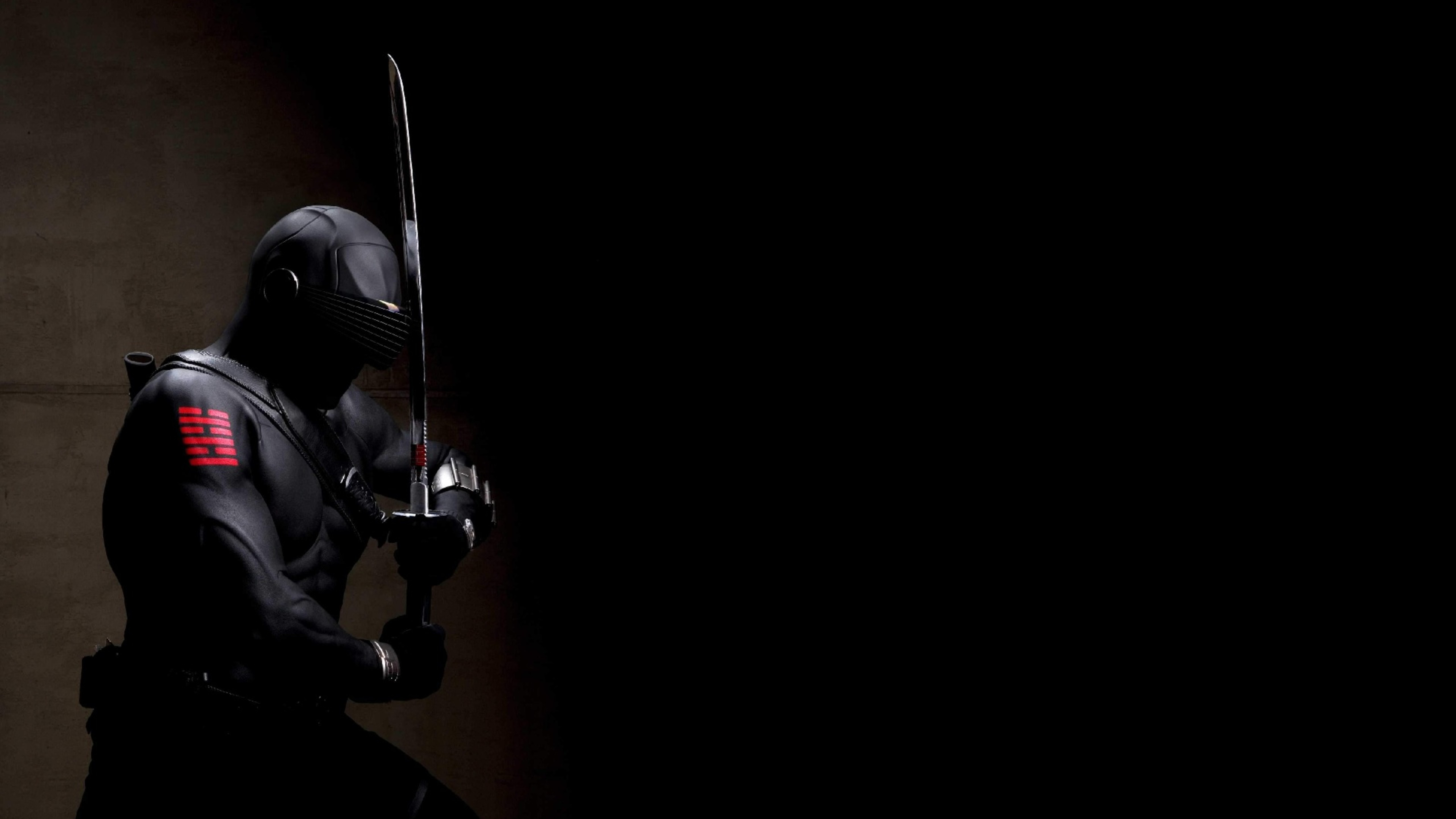 Shadow Ninja Snake Eyes Wallpaper Download 5120x2880 5120x2880