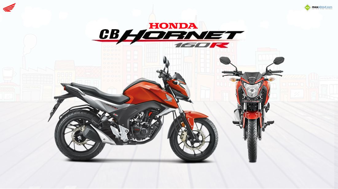 All new Honda CB Hornet 160R 1100x615