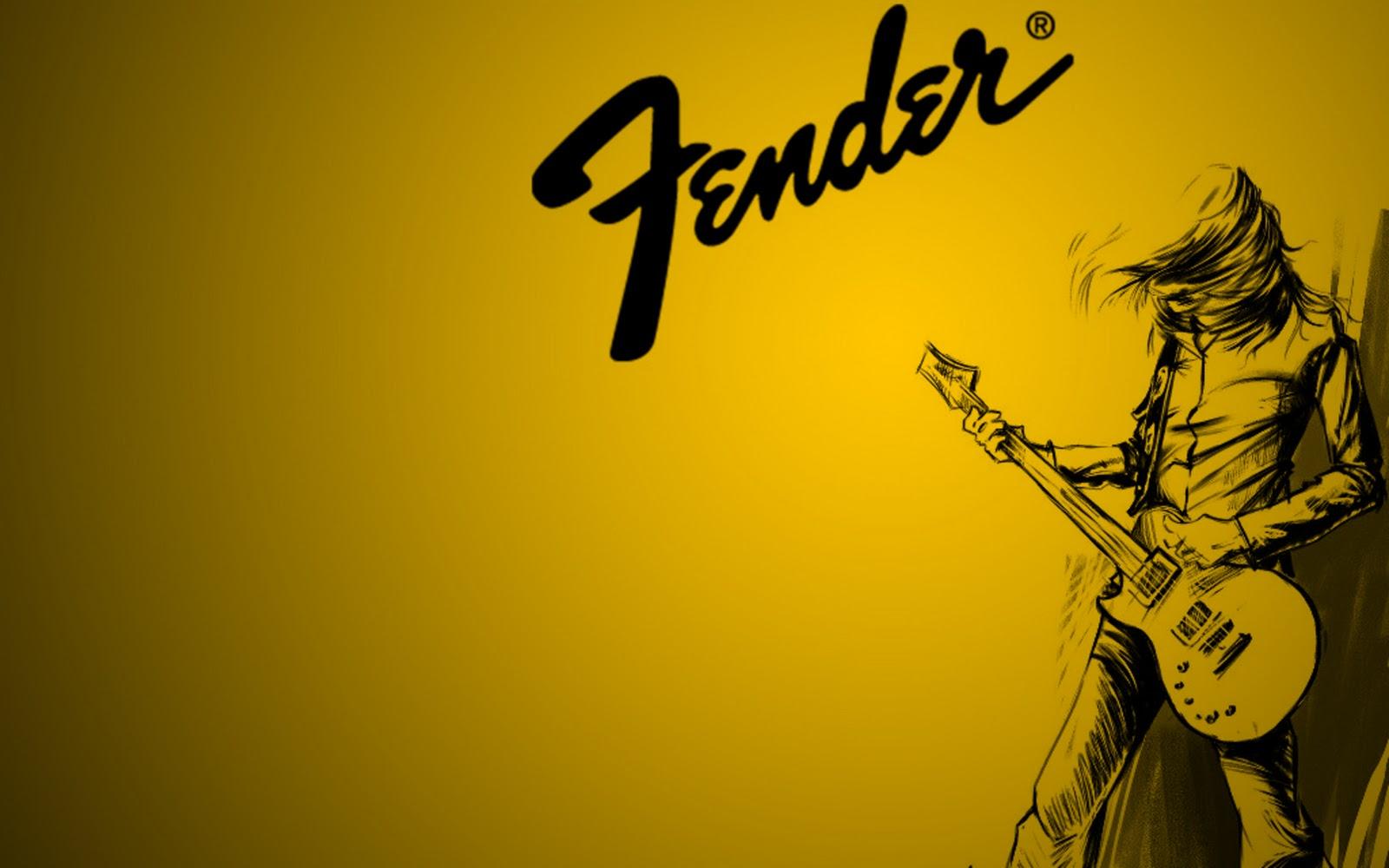 wallpapers 1way Bass Wallpaper Fender 1600x1000