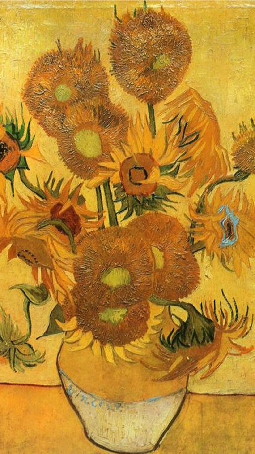 Van Gogh Sunflower iPhone Wallpapers   Top Van Gogh Sunflower 1080x1920