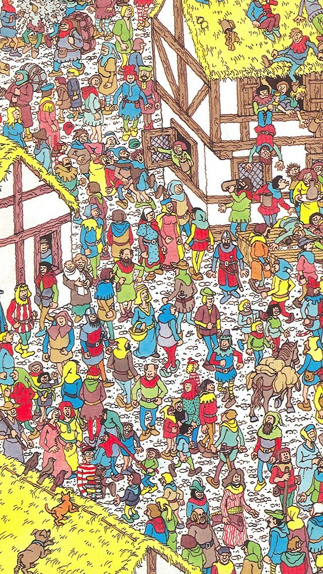 Wheres Waldo iPhone 5 Wallpaper Waldo Iphone Waldo SomebodyS Please 640x1136
