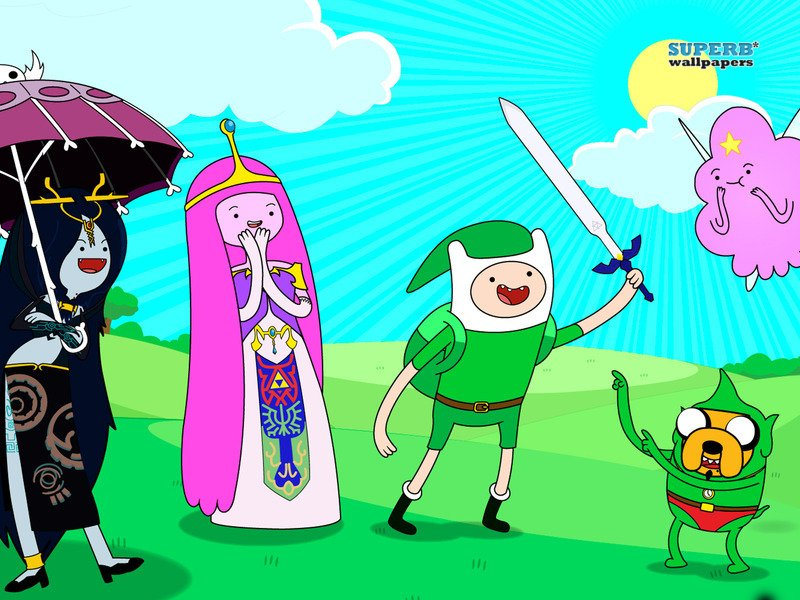 Adventure Time With Finn and Jake images adventure time wallpaper 800x600