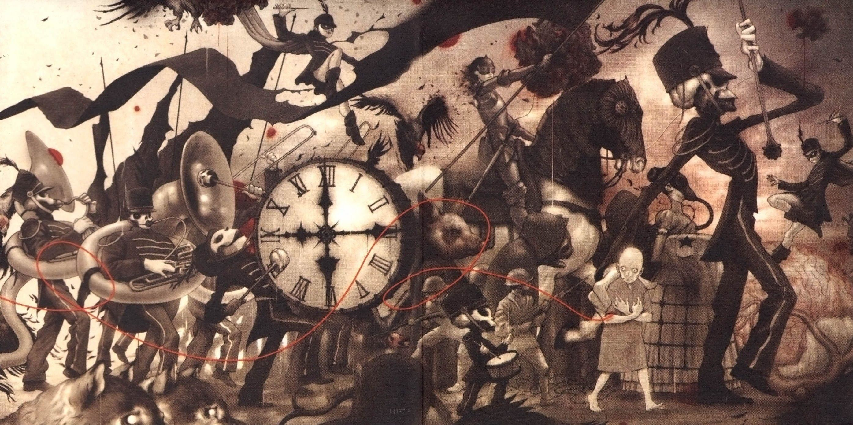 My Chemical Romance Wallpaper Black Parade 60 images 2789x1390
