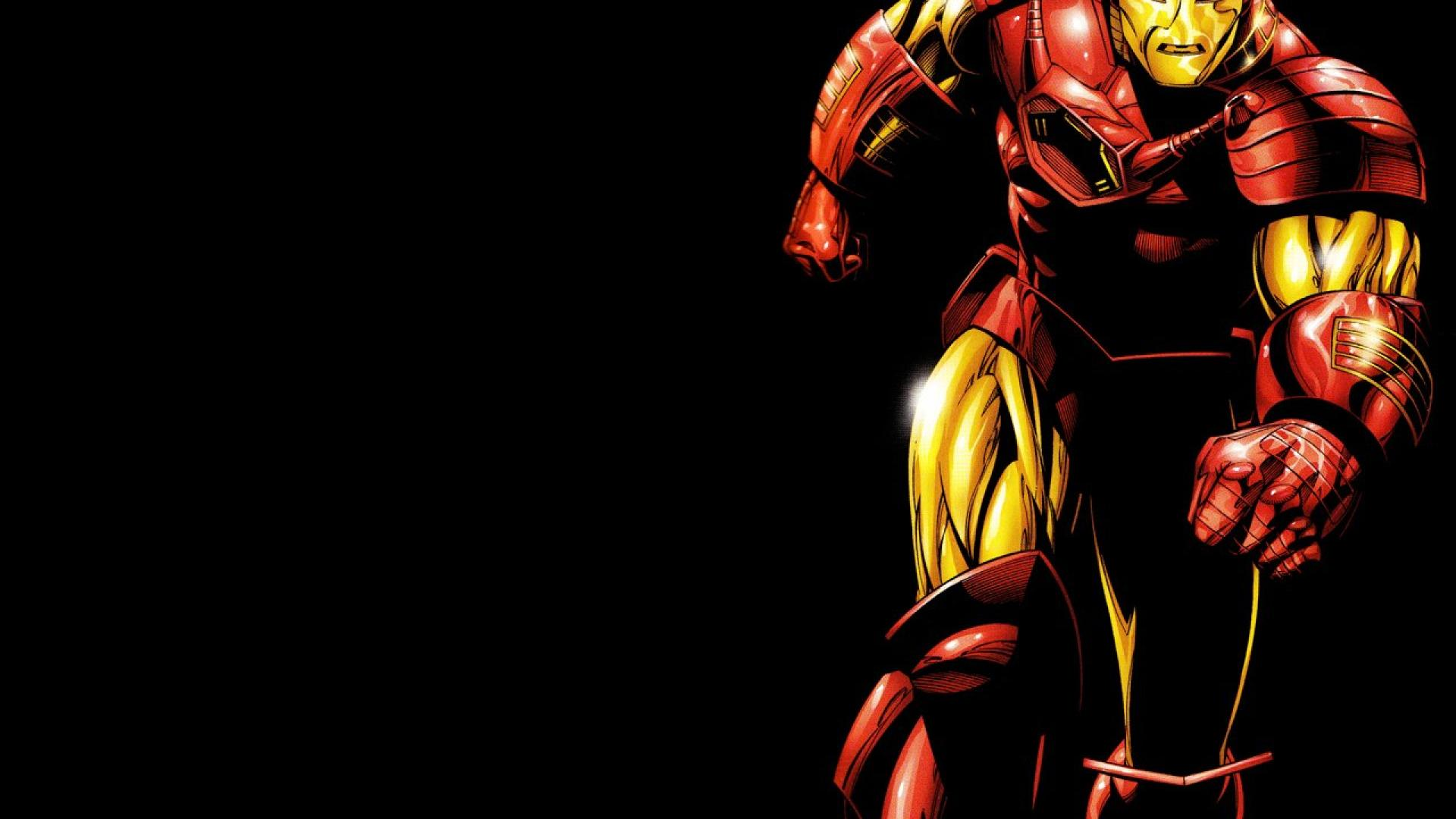 Iron Man Comic HD Wallpaper Background Images 1920x1080