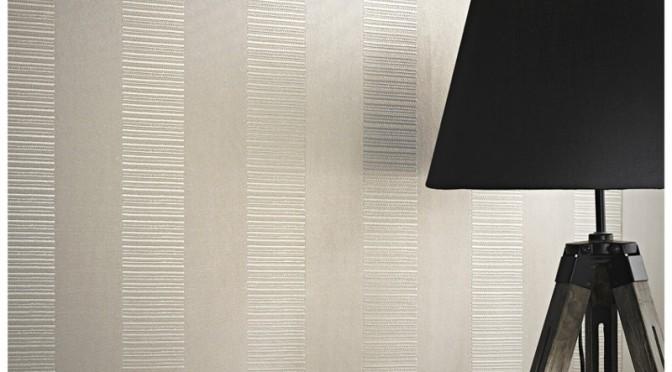 Arthouse Ravello Stripe Wallpaper Ivory 672x372