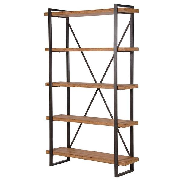 Tier Wooden Shelf Unit Roomers Interiors 600x600