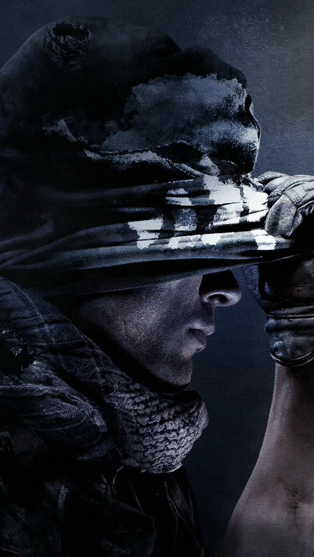 Call Of Duty Ghosts HD IPhone Wallpaper 640x1136