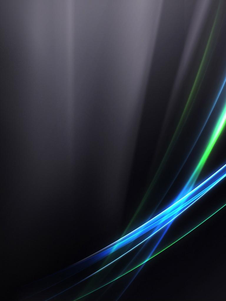 Vista Trends Black Wallpaper   iPad iPhone HD Wallpaper 768x1024