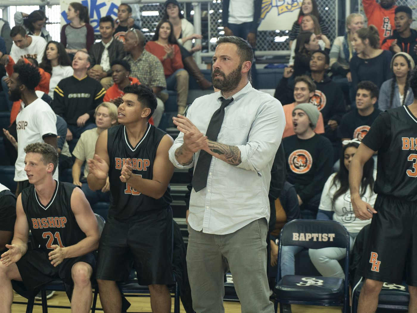 The Way Back review Ben Affleck a believable boozer basketball 1400x1050