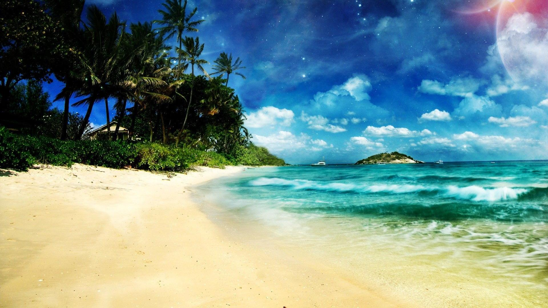 Cool Beach Wallpapers Images amp Pictures   Becuo 1920x1080