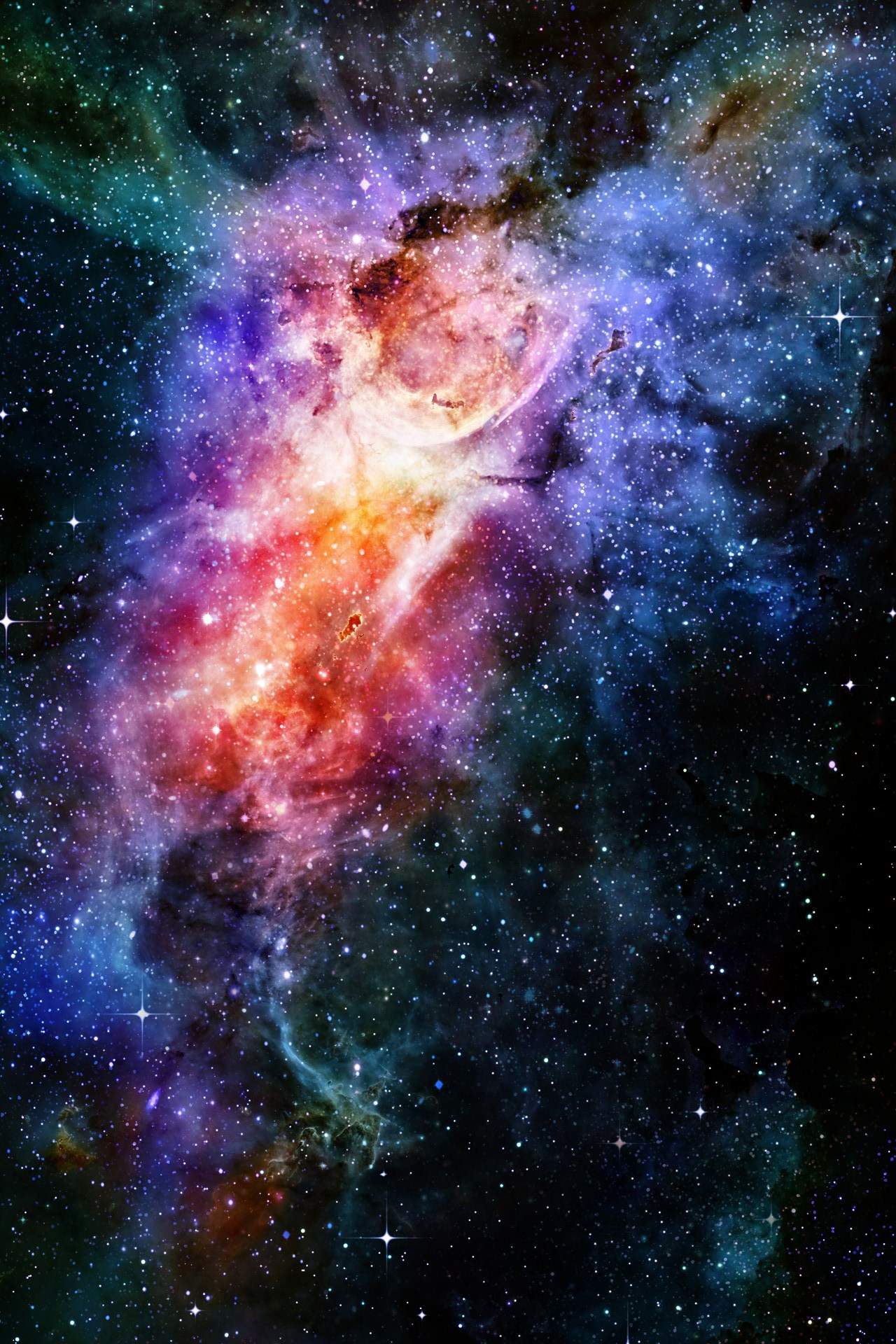 Galaxy iphone wallpaper hd wallpapersafari for Wallpaper home screen tumblr
