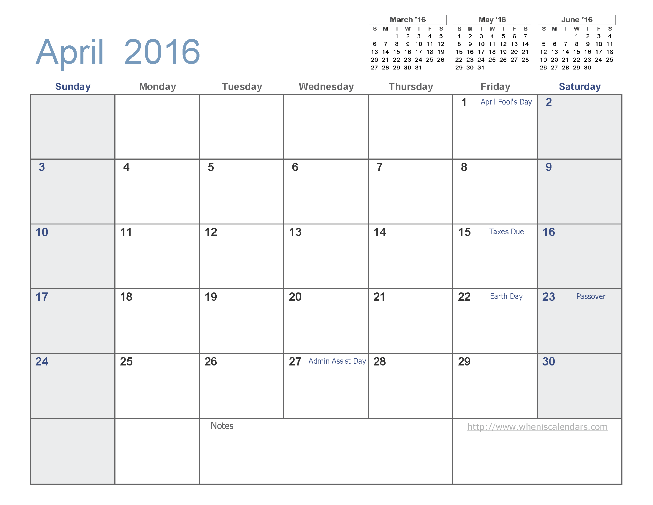 calendar templates july 2015