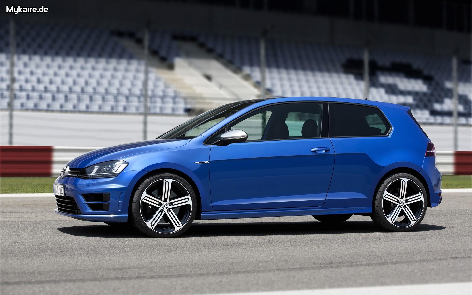 Volkswagen Golf R Wallpaper 2014 Seitenansicht Auto Tuning News 1920x1200