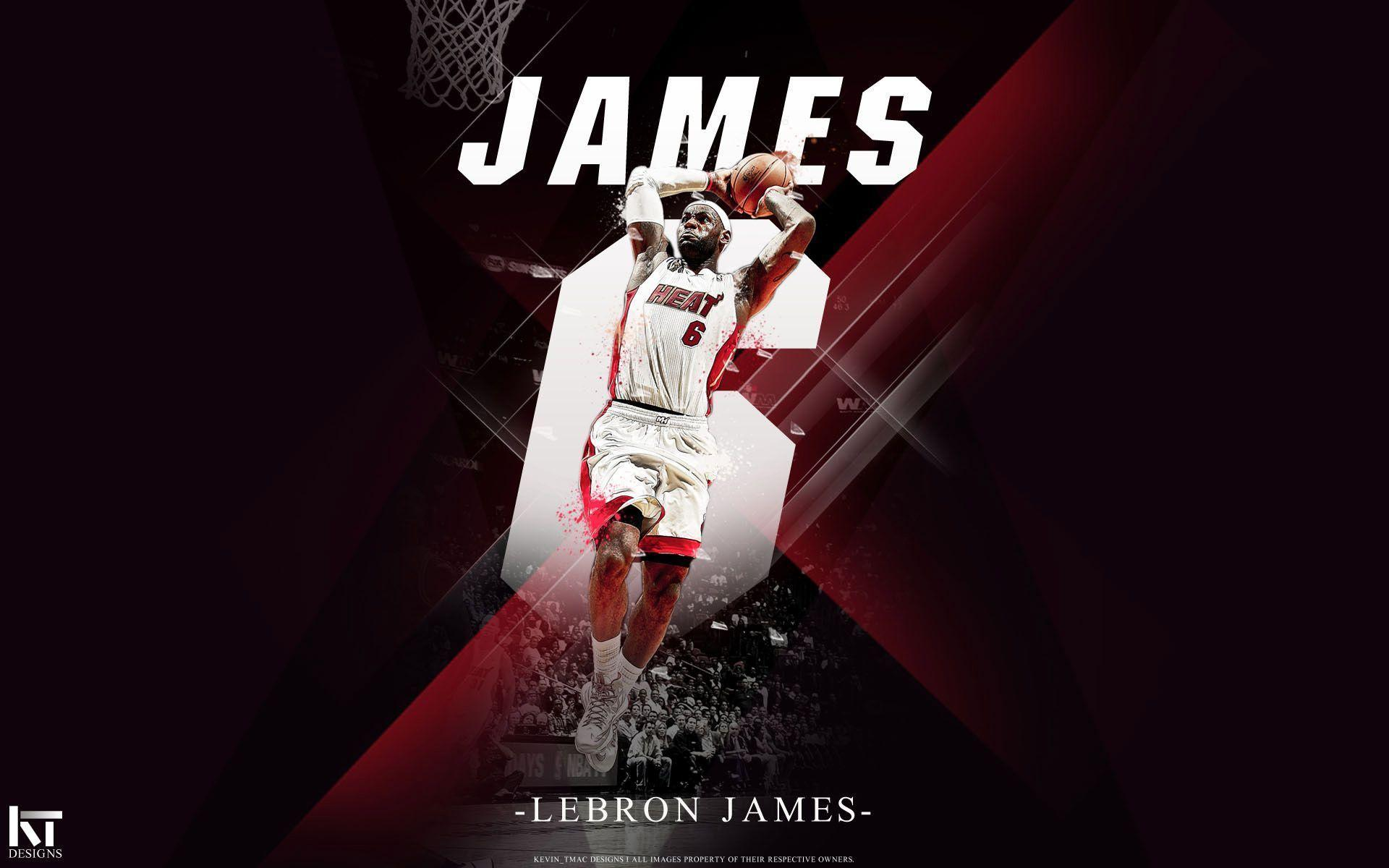 Lebron James Dunk Heat Wallpapers 2015 1920x1200