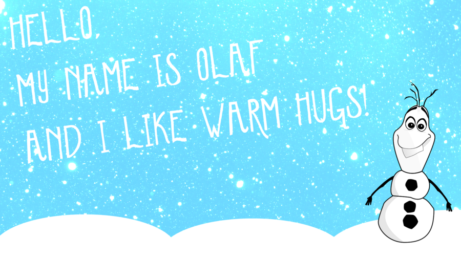 Frozen Wallpaper   Olaf by GPMaster 900x506