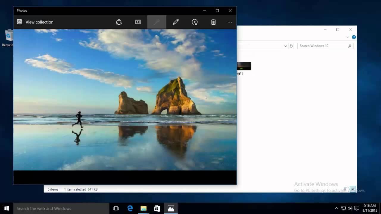 Desktop Background Location Windows 10