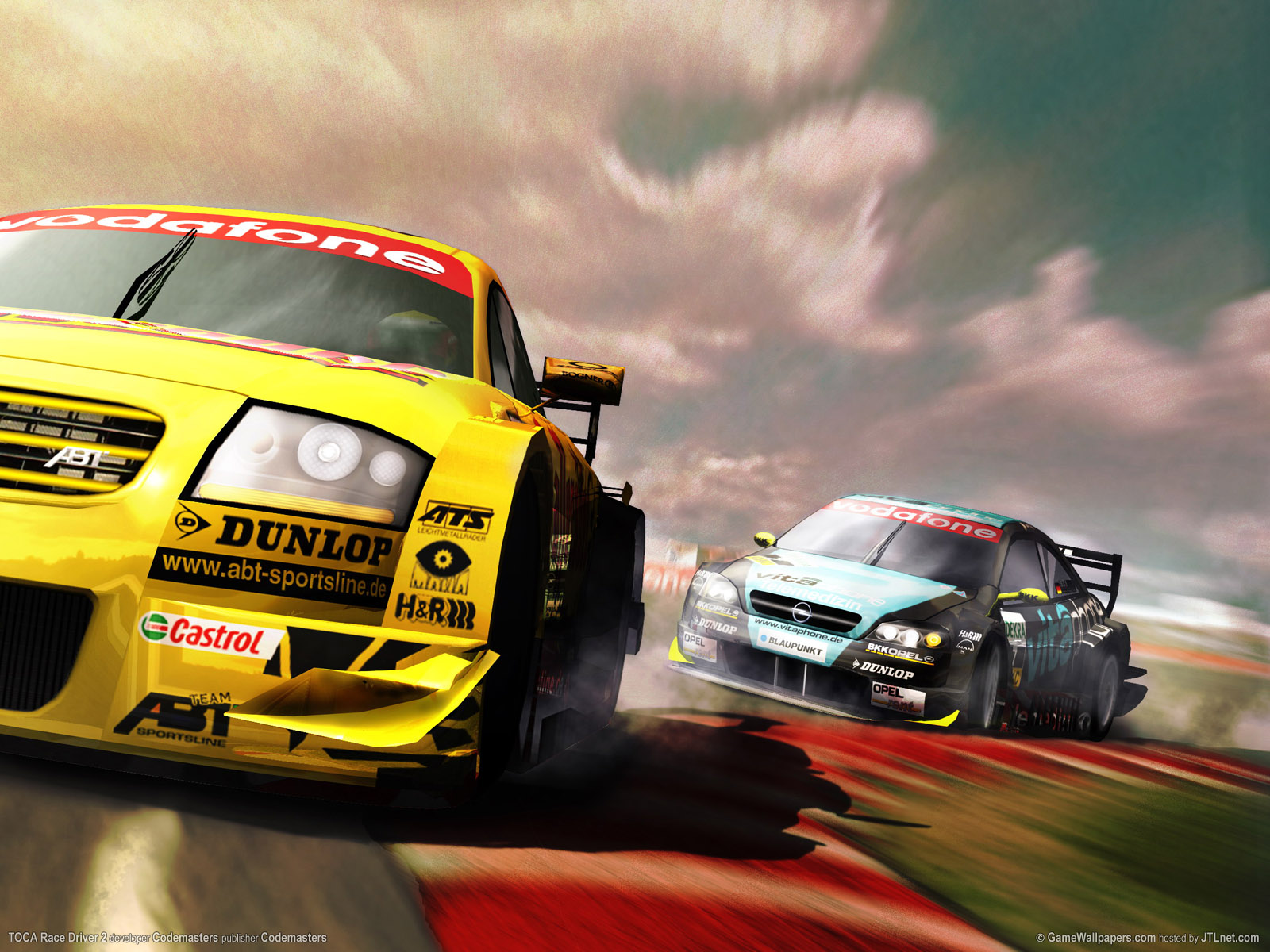 1600x1200 TOCA Race Driver 2 desktop PC and Mac wallpaper 1600x1200