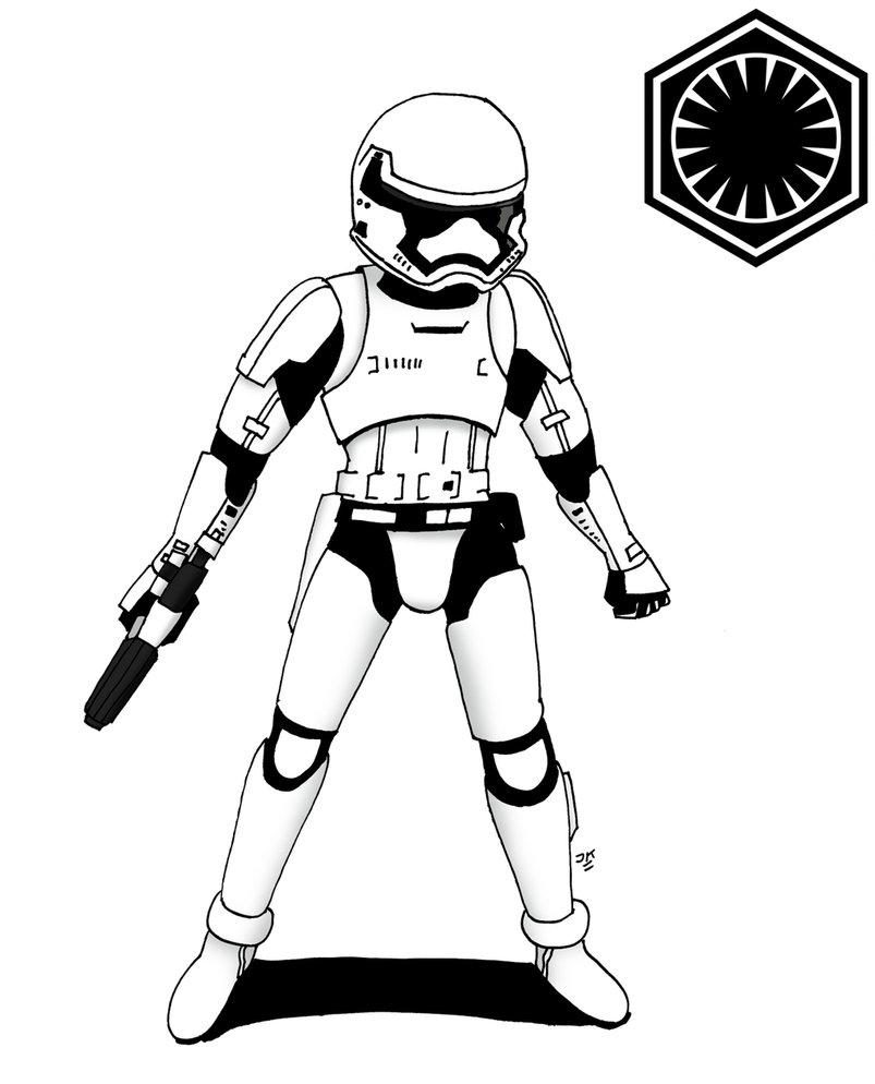 First Order Stormtrooper by JohnnyFive81 803x994