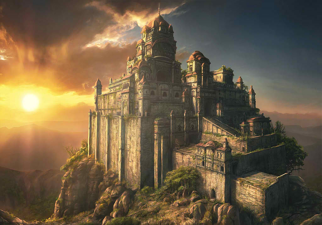 Wallpaper Abyss Explore the Collection Castles Fantasy Castle 379901 1280x896