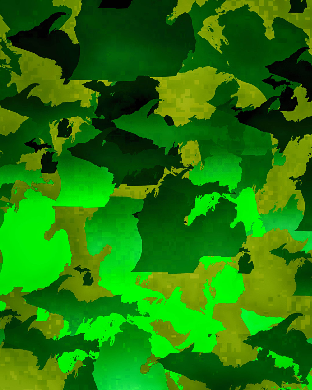 Camo Iphone Wallpaper Michigan camo by rowlee 1024x1280