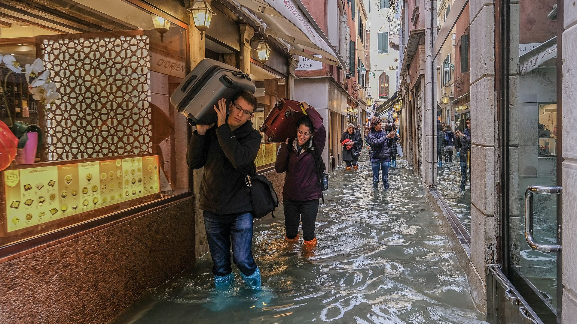 In photos Venice experiences highest tide in 10 years   Axios 1920x1080