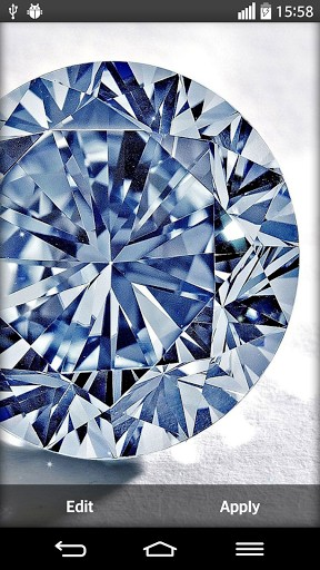 Download Diamonds Live Wallpaper for Android by My Live Wallpaper 288x512