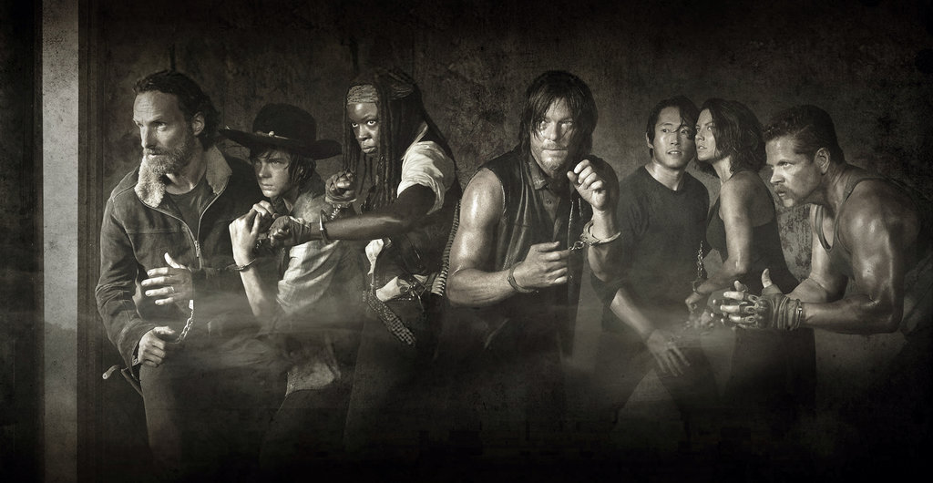 Walking Dead Season 5 Poster SW Wallpaper by Atomicxmario on 1024x530