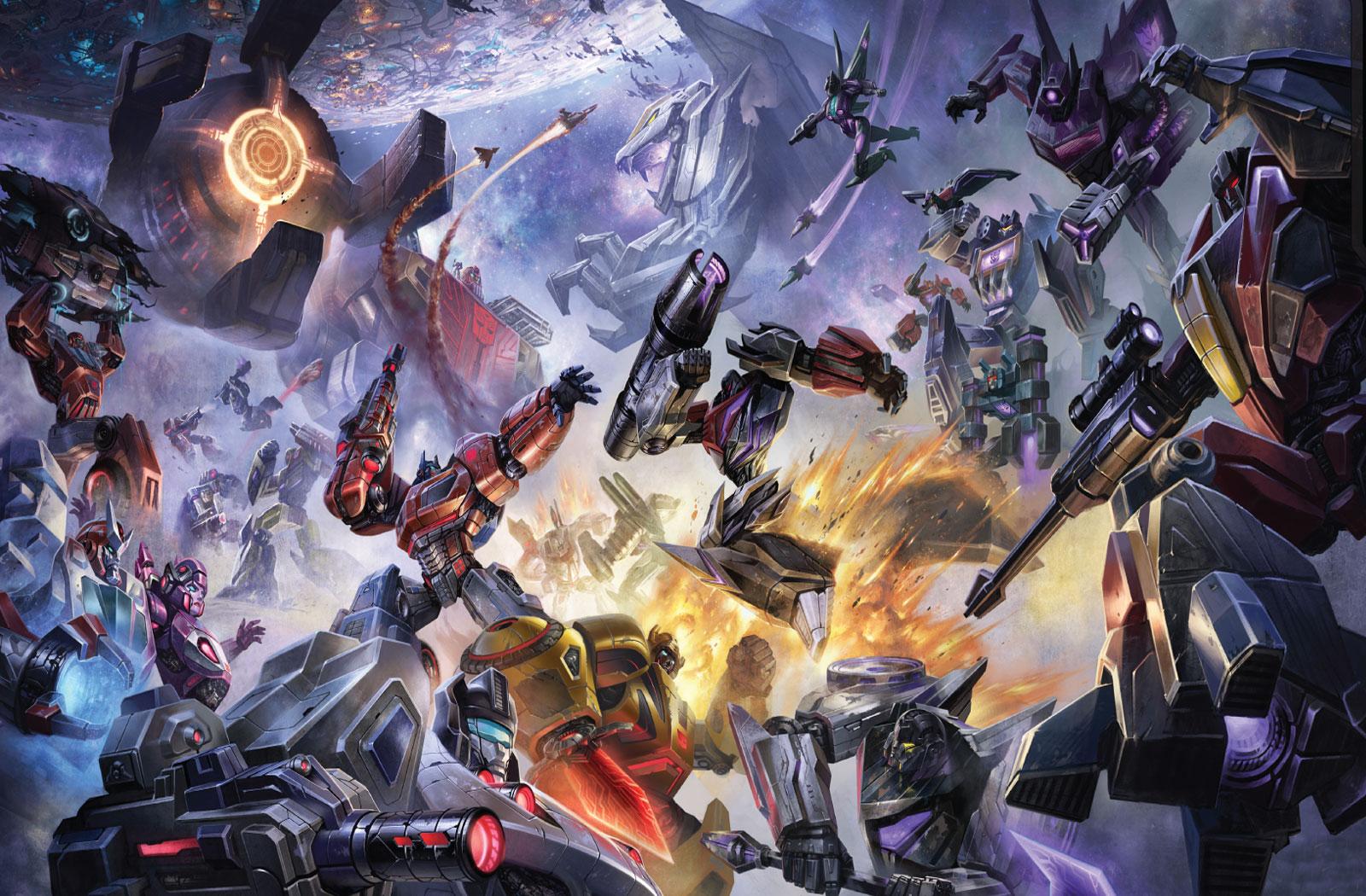 Transformers War for Cybertron 10x XP Weekend and new WFC desktop 1600x1050