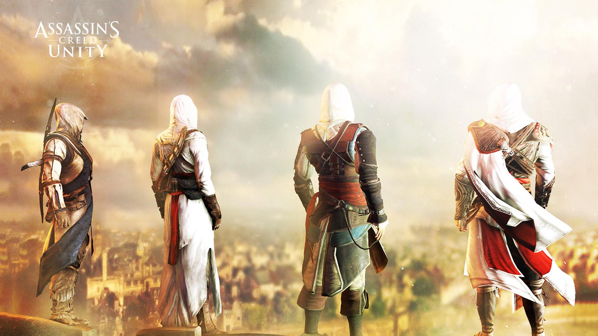 Assassins Creed Unity Wallpaper in 1920x1080 1920x1080