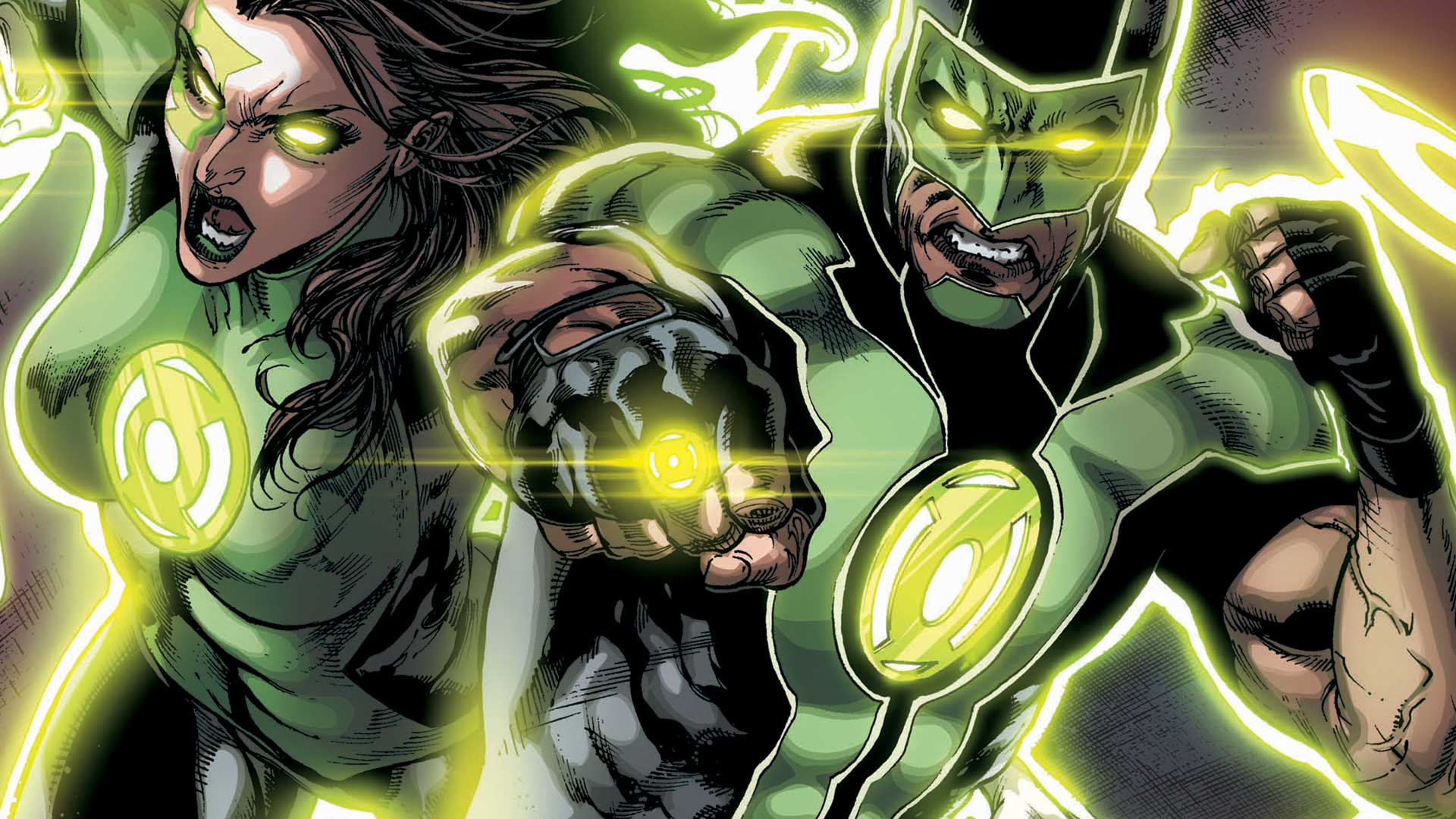 GREEN LANTERNS by Robson Rocha Major Spoilers 1920x1080