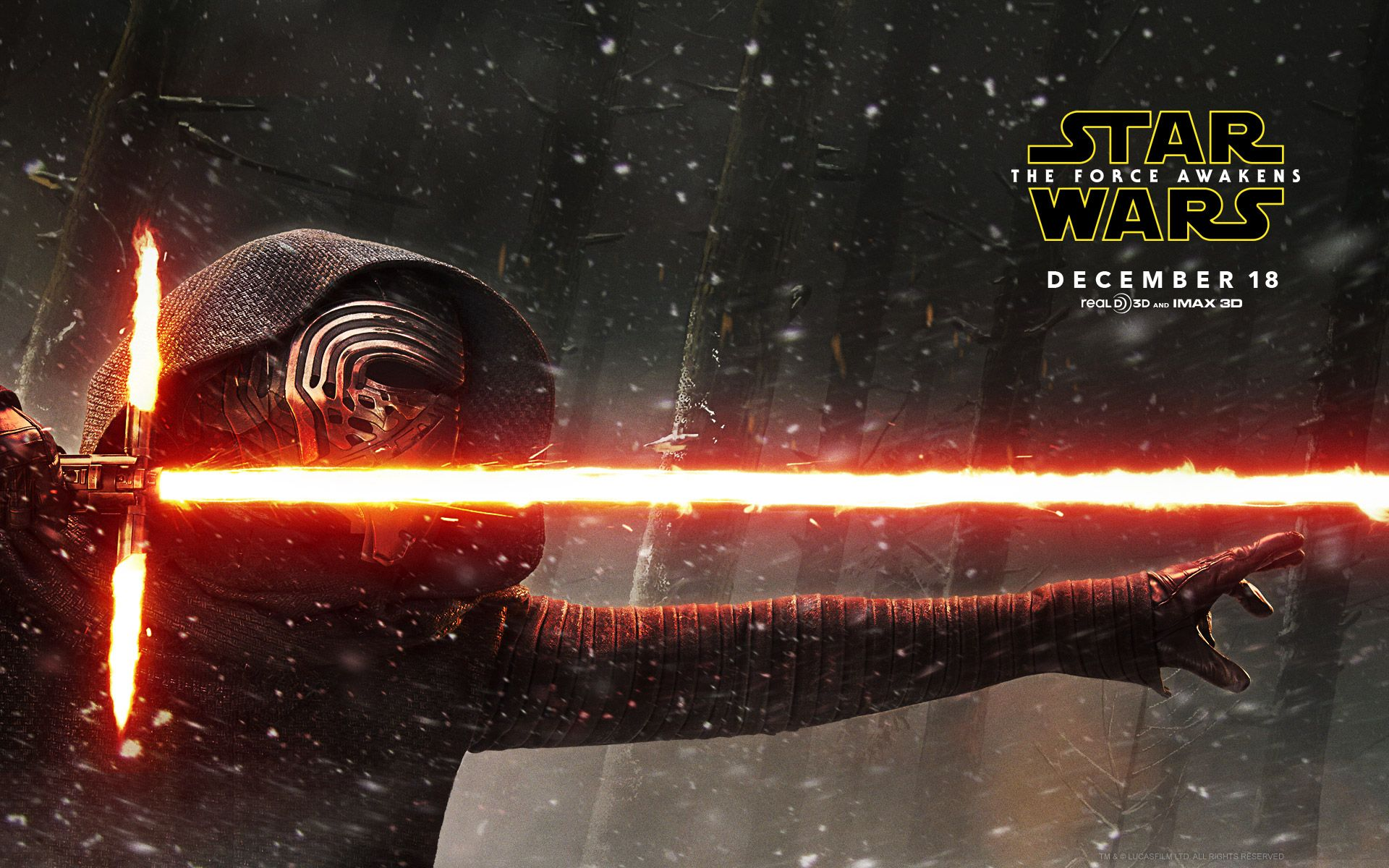 as Kylo Ren Star Wars The Force Awakens Live HD Wallpapers 1920x1200