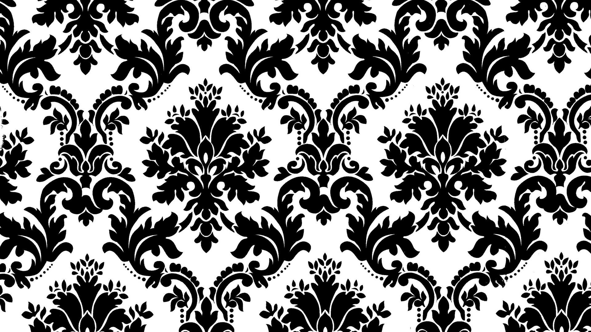 simple damask pattern - HD1920×1080