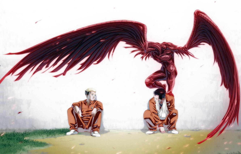 Wallpaper anime art guys Ajin Demi Human Adzhin images for 1332x850