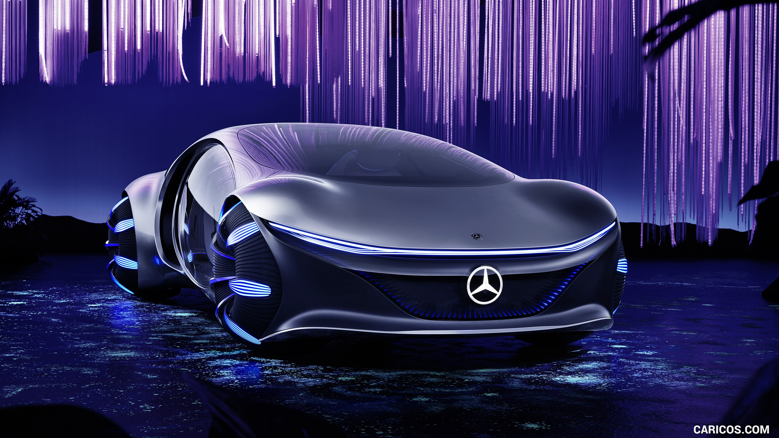 2020 Mercedes Benz VISION AVTR Concept   Front HD Wallpaper 4 2560x1440