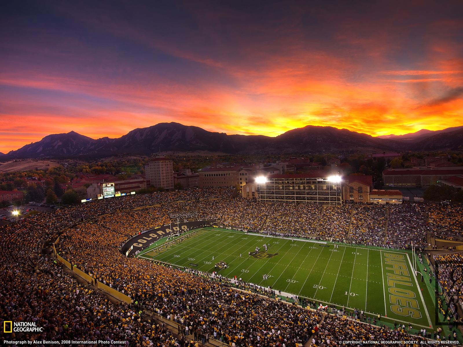 Football Stadium Photo Colorado Wallpaper   National Geographic Photo 1600x1200