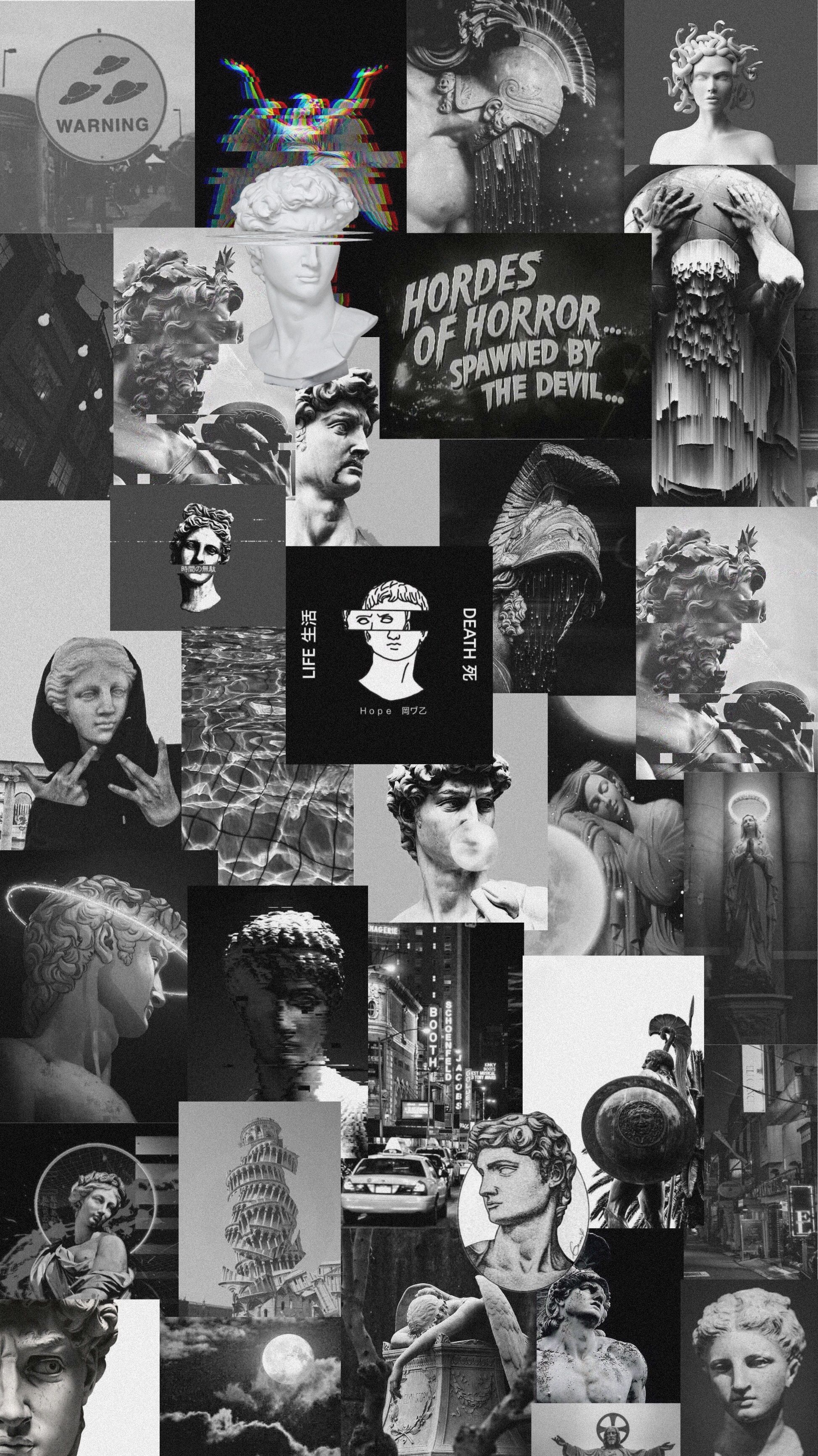 Black and White Collage Wallpapers   Top Black and White 1947x3464