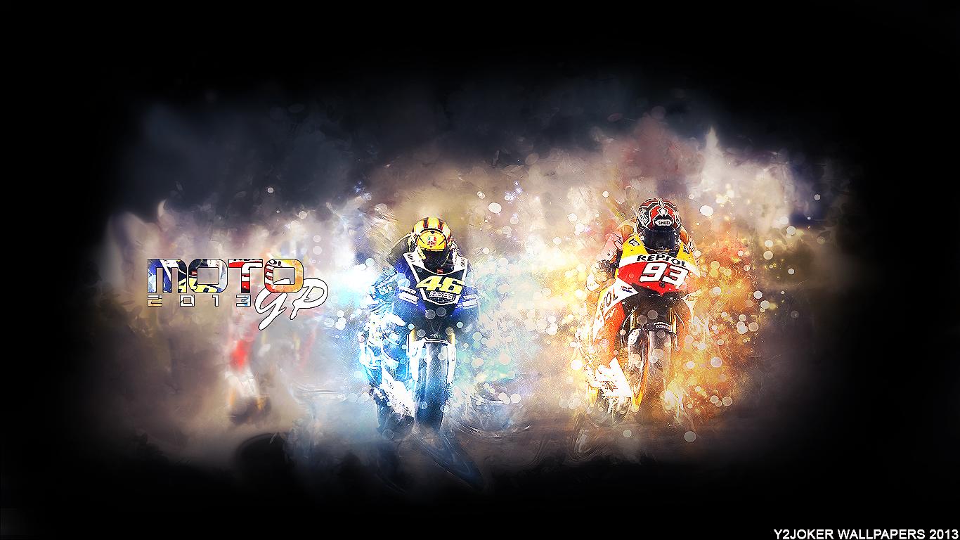 Moto GP 2013 Wallpaper by 1366x768