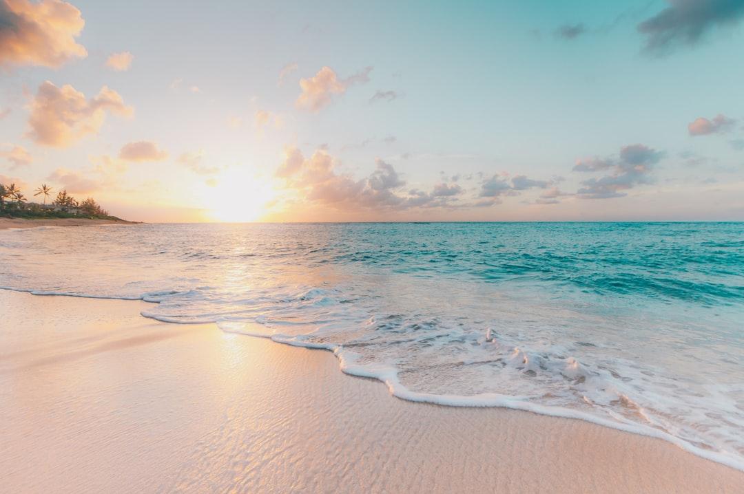 Wallpaper Ocean Beach 1080x718