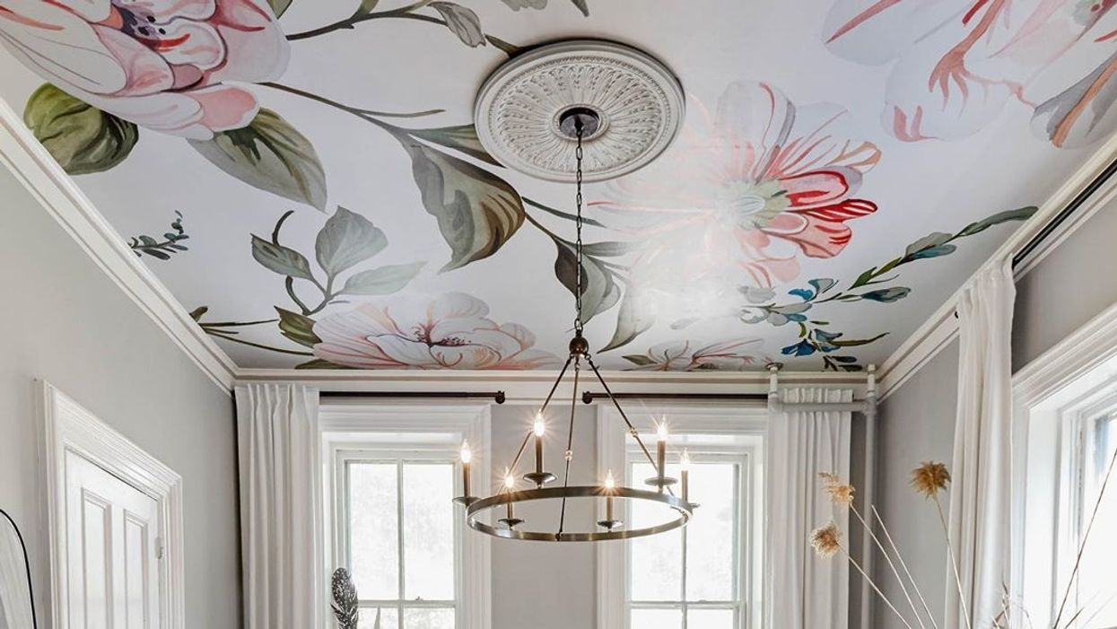 Best Ceiling Wallpaper Ideasand How to Add Them to Your Home 1245x701